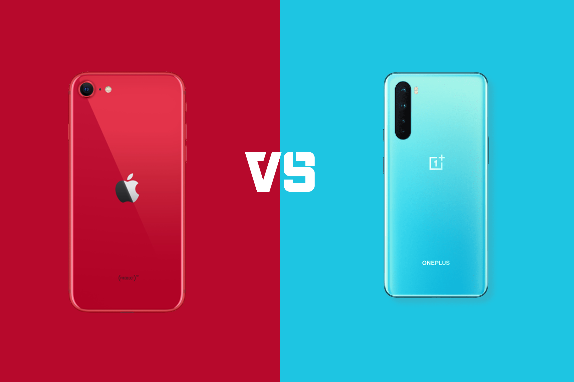 iPhone SE 2020 vs OnePlus Nord