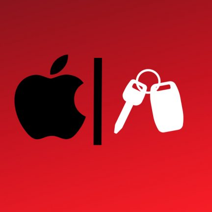 Apple CarKey Illustration