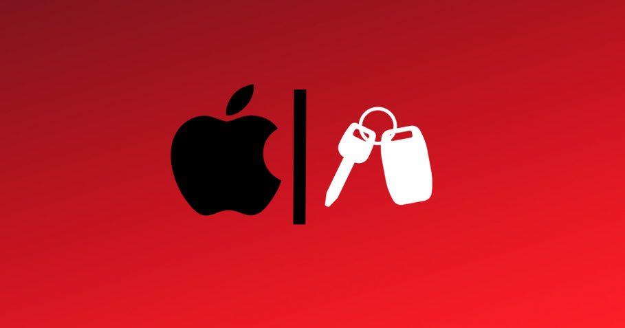 Apple CarKey Illustration