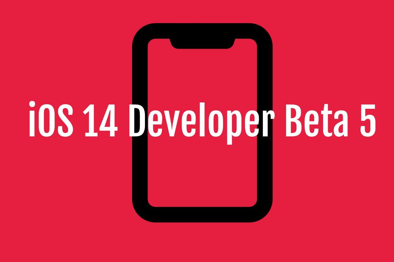 iOS 14 Developer Beta 5