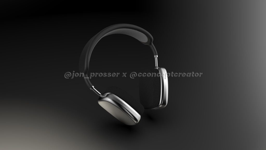 AirPods Studio renders by Jon Prosser