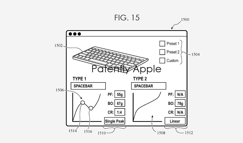Apple MacBook Keyboard customization patent 1