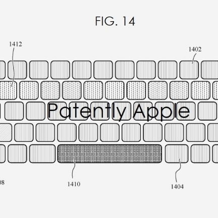 Apple MacBook Keyboard customization patent Featured
