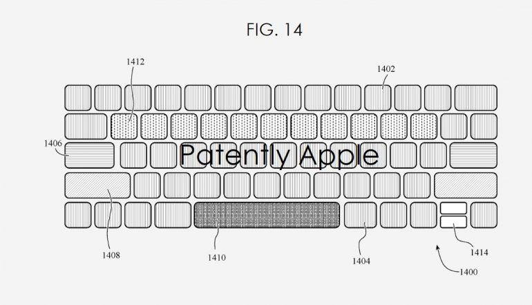 Apple MacBook Keyboard customization patent Featured
