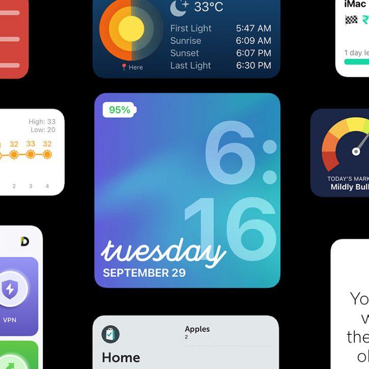 Best iOS 14 Widget apps