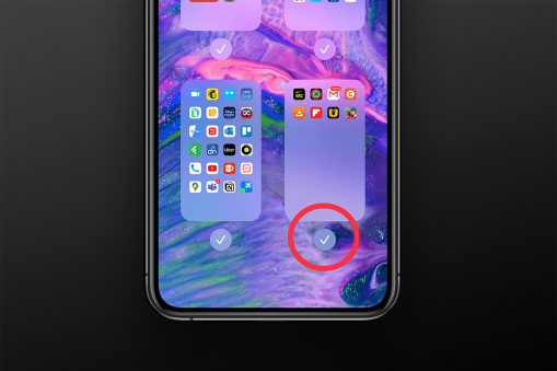 How to hide home screen app pages on iOS 14
