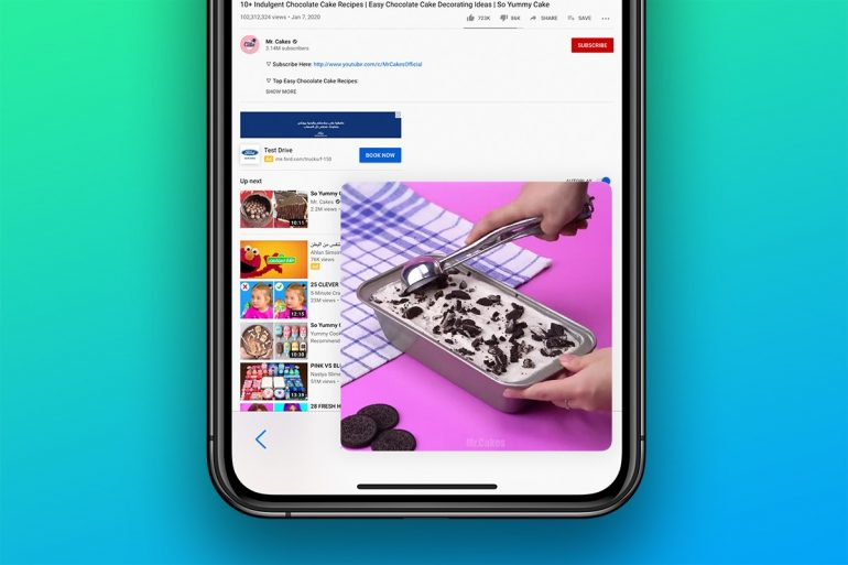 How to watch YouTube in Picture in Picture on iPhone