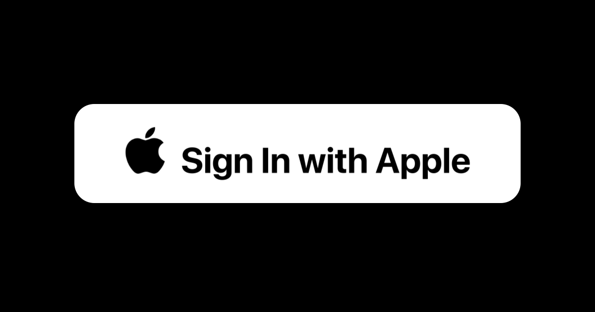 Sign in With Apple 1
