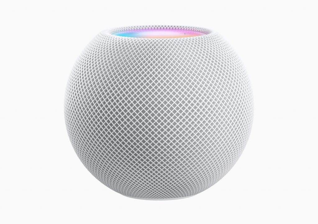 Apple homepod mini white 10132020