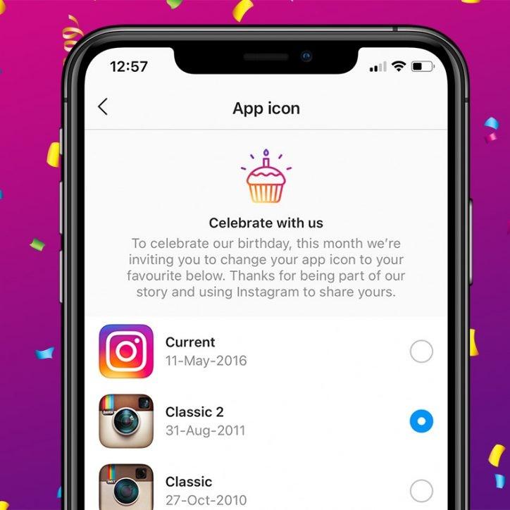 Instagram Birthday
