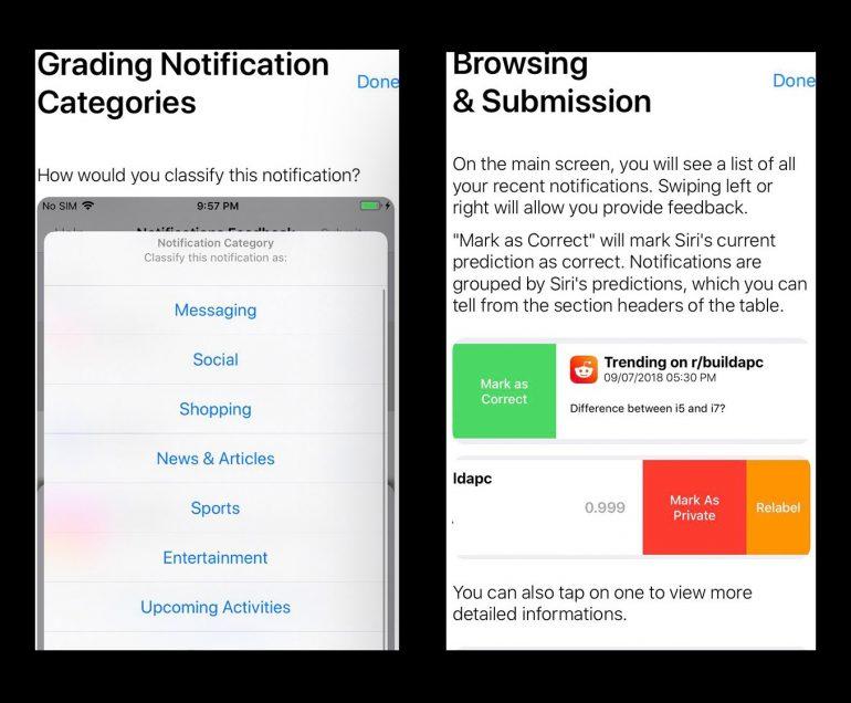 Prototype Internal Notification Testing iOS