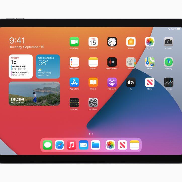 apple new ipad air widgets 09152020