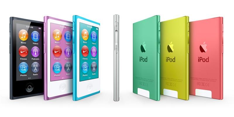 apple the new 7th generation ipod nano 1
