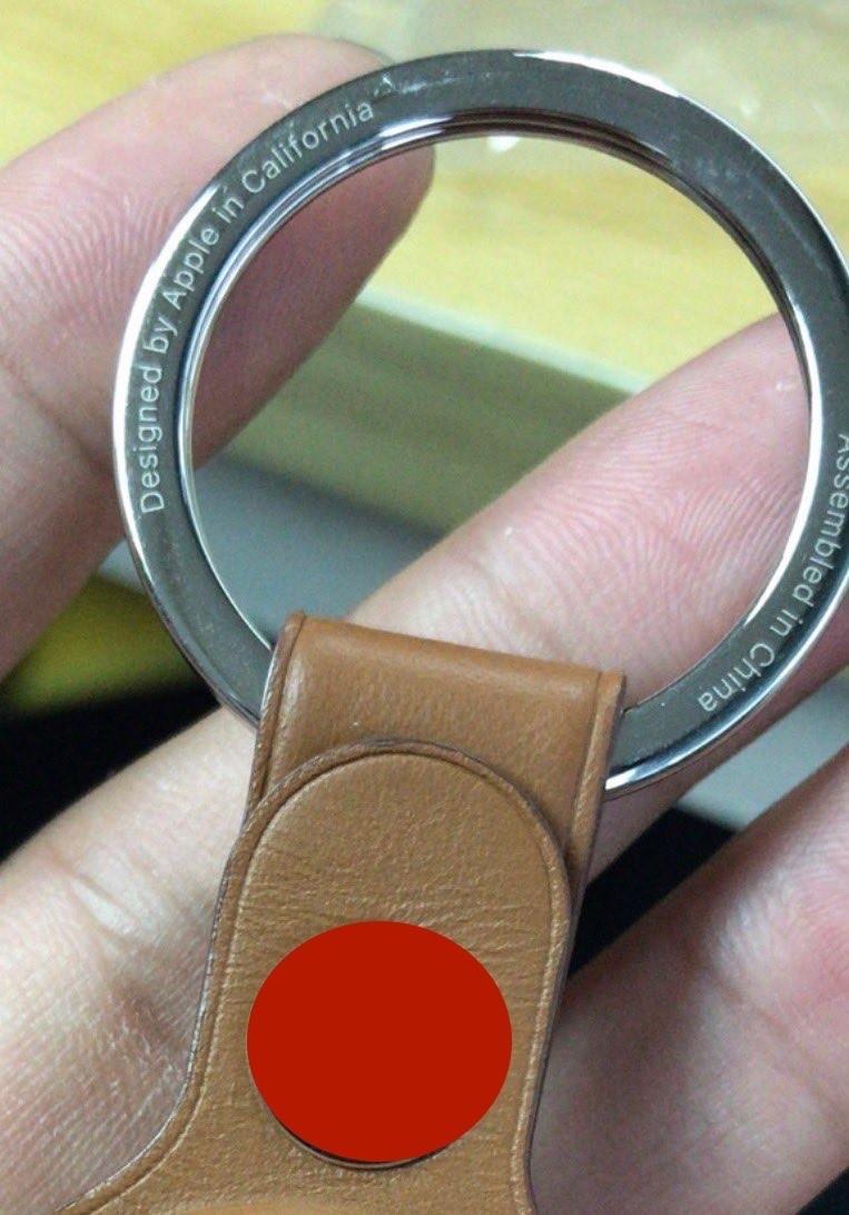 AirTag Alleged keychain