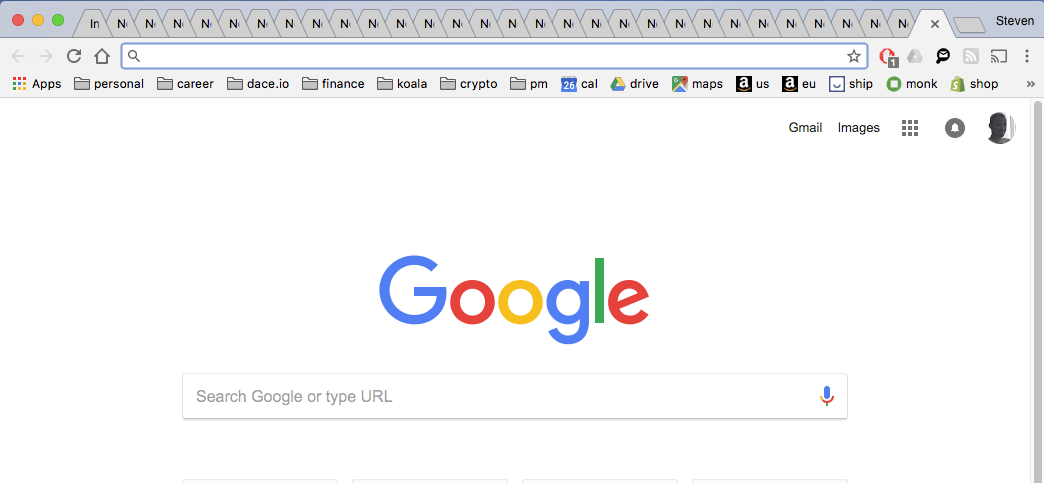 Unlimited Chrome Tabs