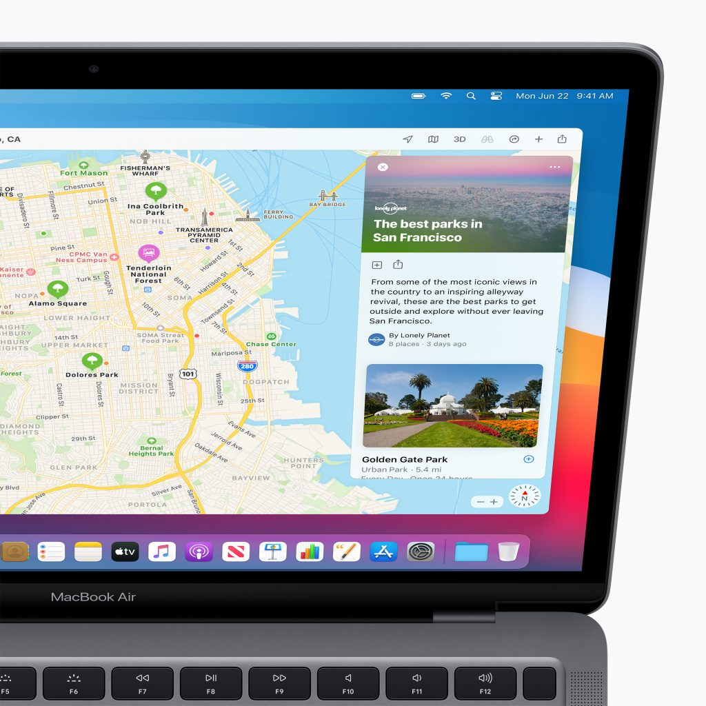 apple macos bigsur maps curatedguides 06222020