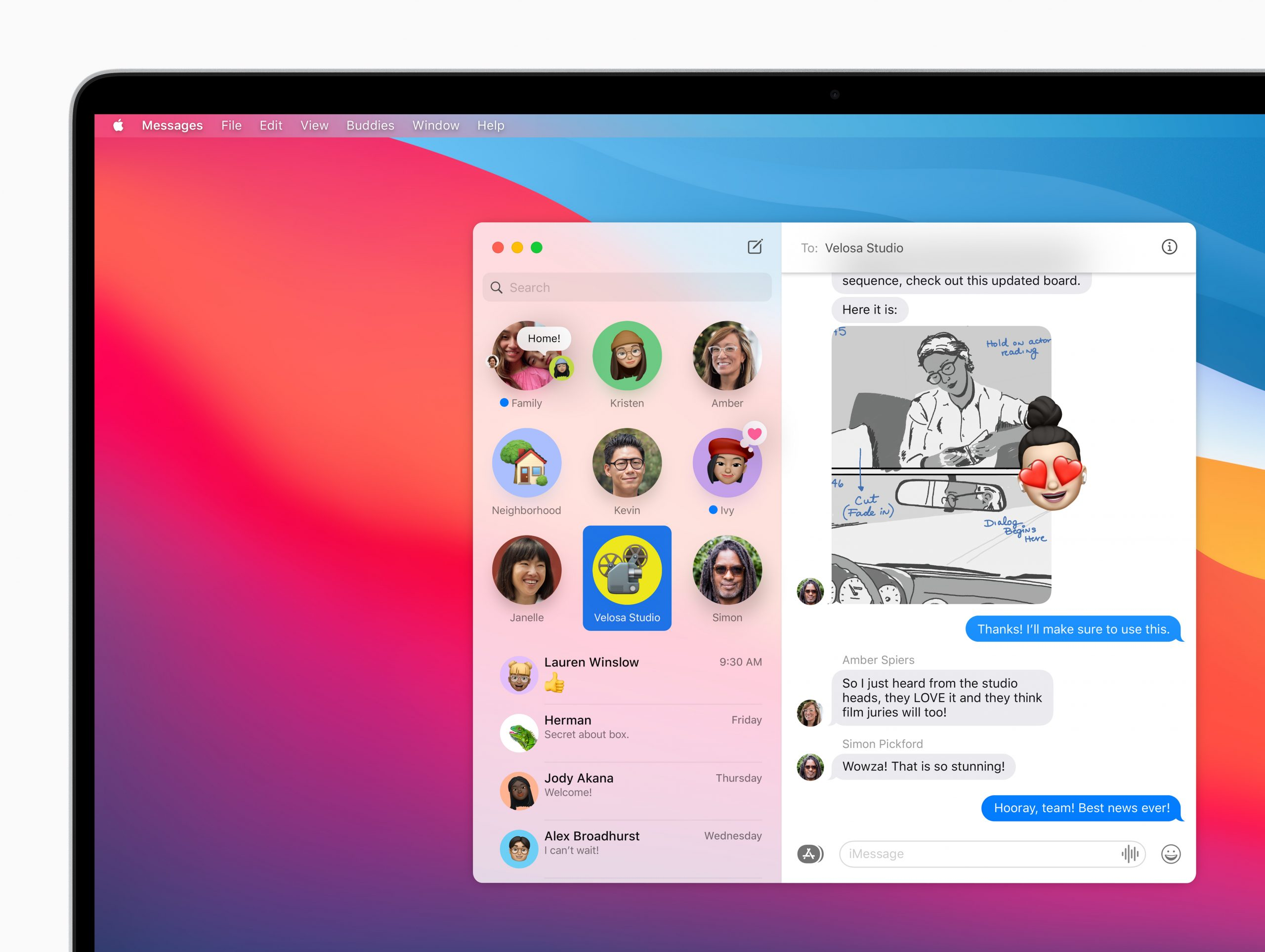 apple macos bigsur messages pnnedconversations 06222020 scaled