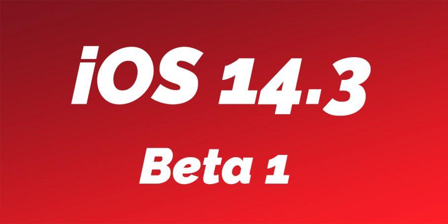 iOS 14.3 Beta 1