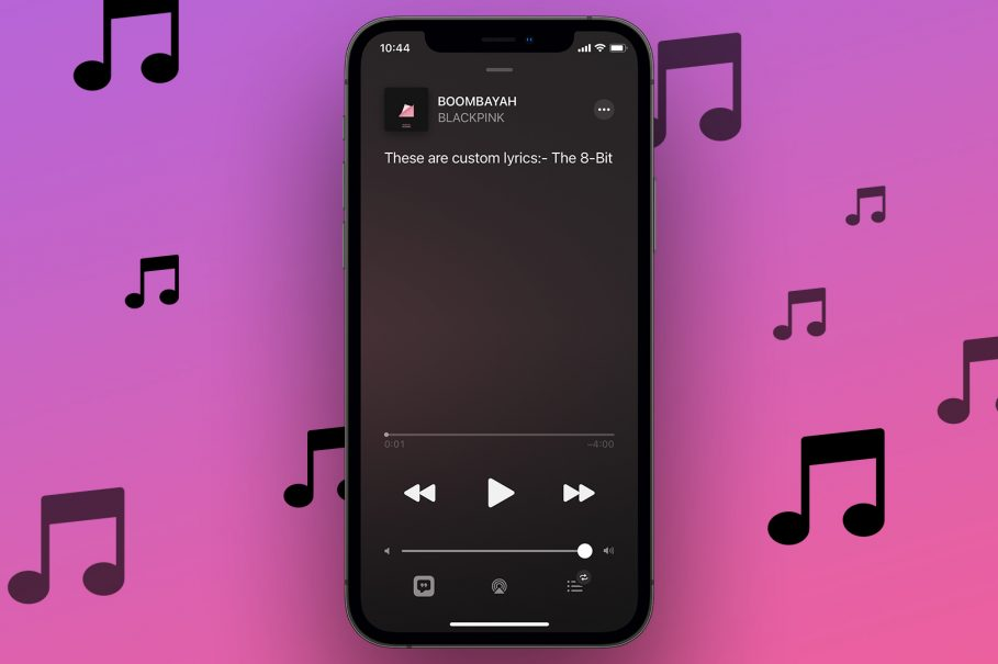 Apple Music Custom Lyrics
