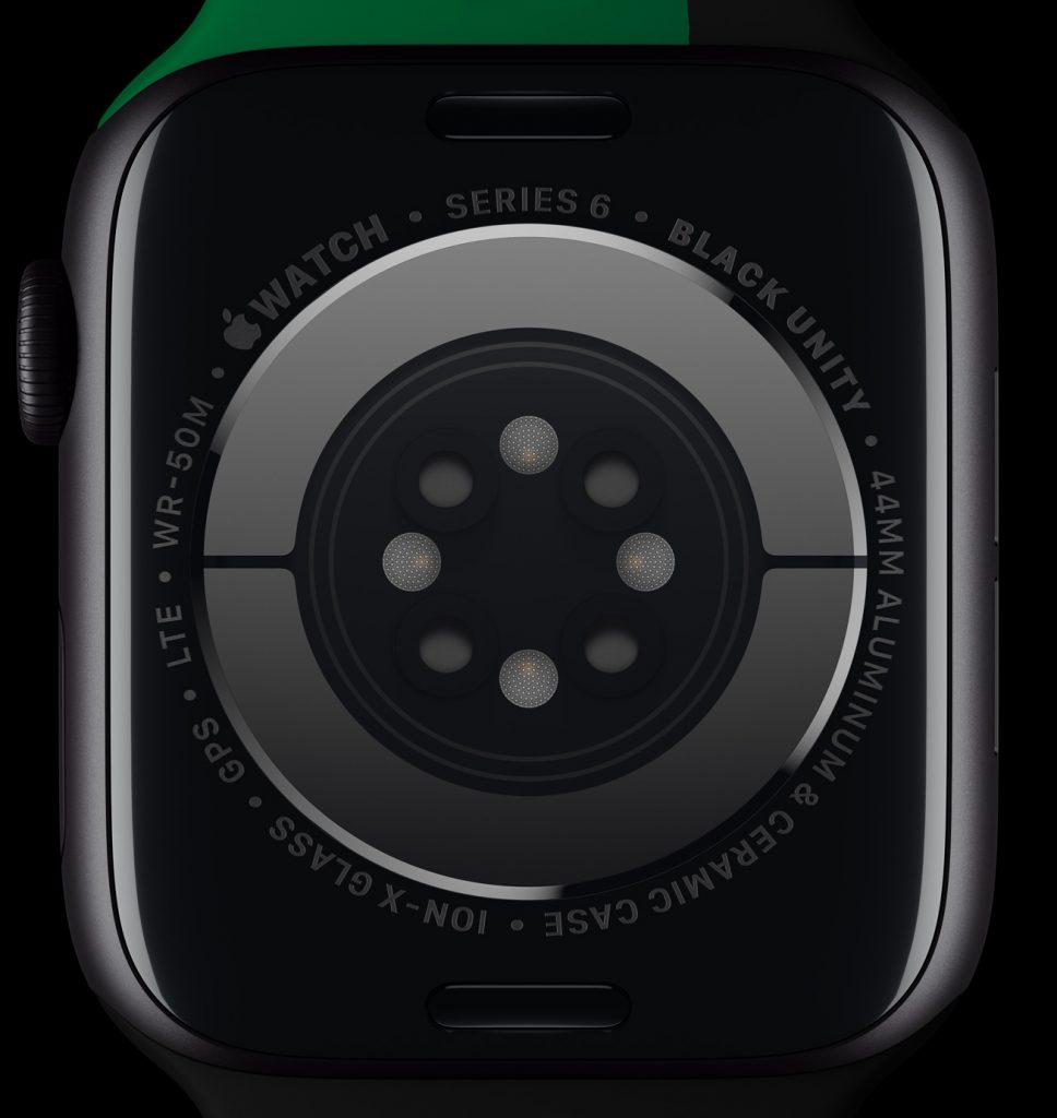 Apple celebrates BlackHistoryMonth apple watch series 6 back 012621