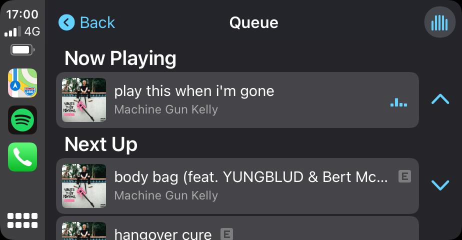 Spotify Queue 1