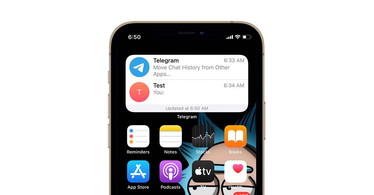 Telegram Widget Chats