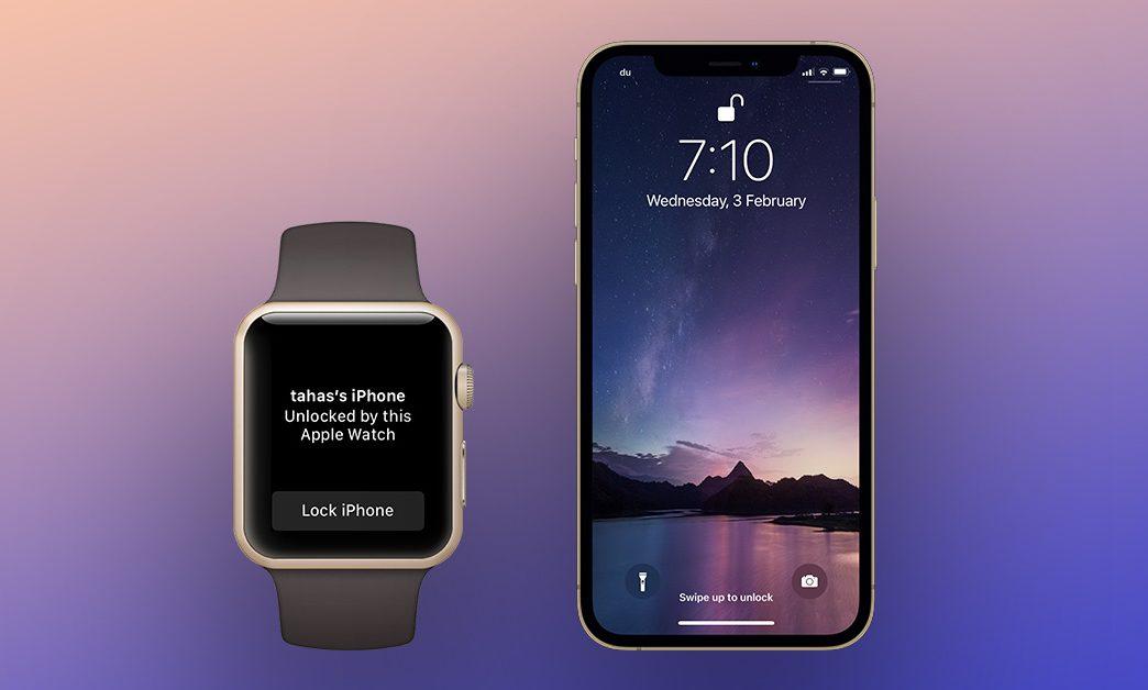 Unlock iPhone using Apple Watch