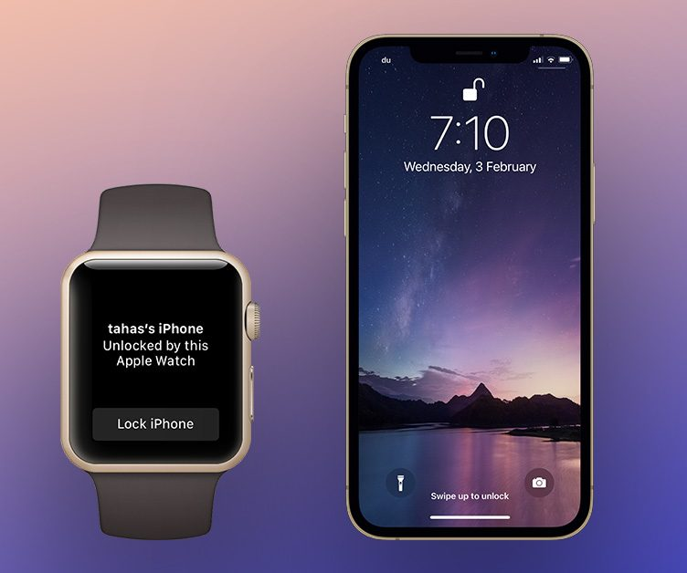 Unlock iPhone using Apple Watch