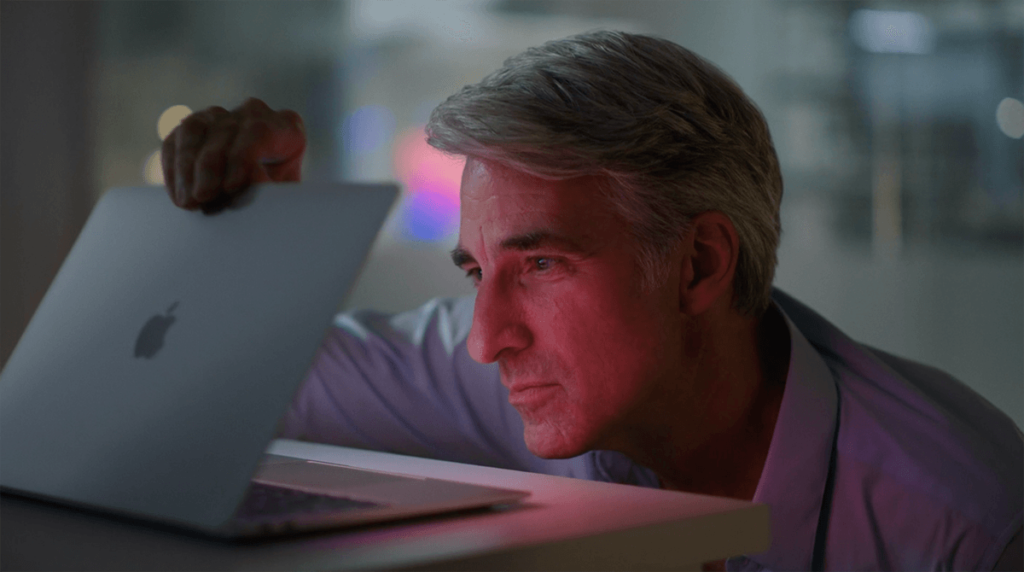 Craig Federighi November Event Still Shot 1