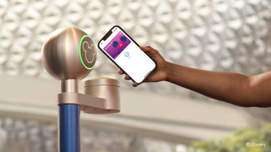 Disney Wallet iPhone NFC