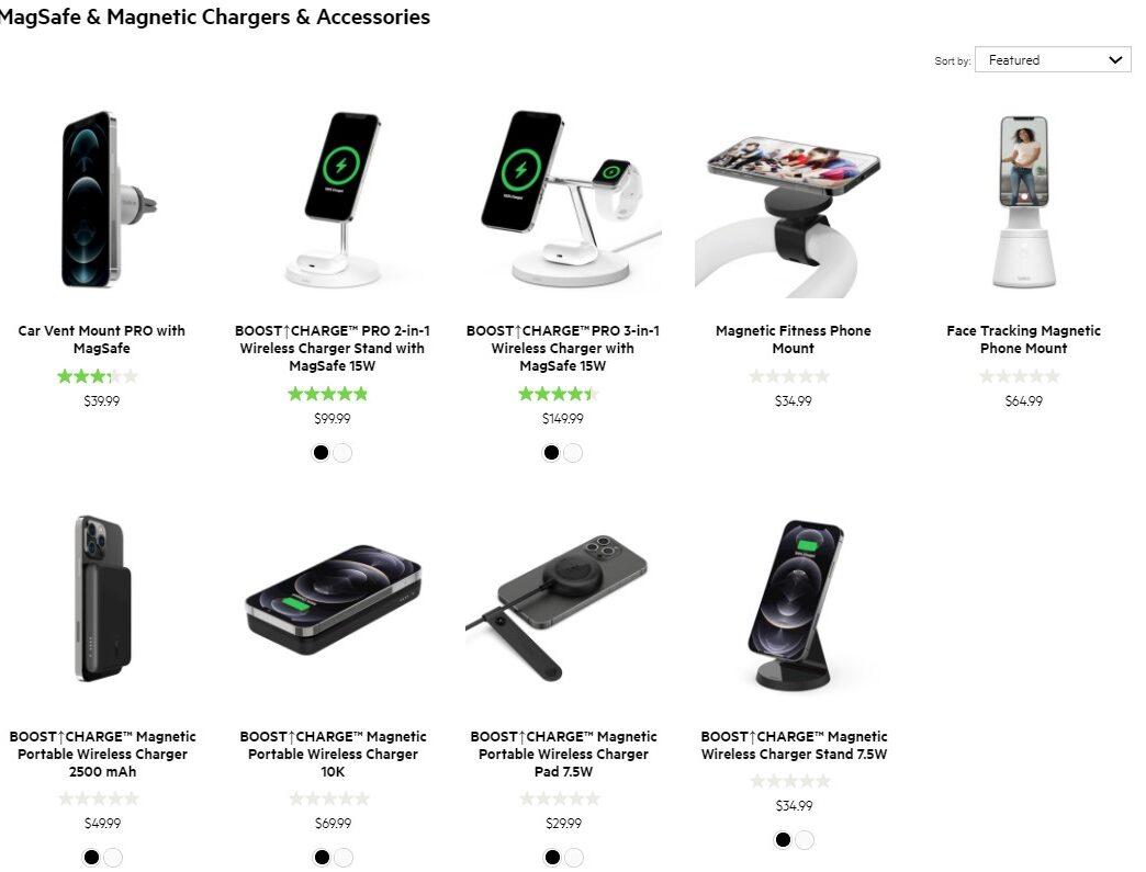 MagSafe Accessories Belkin