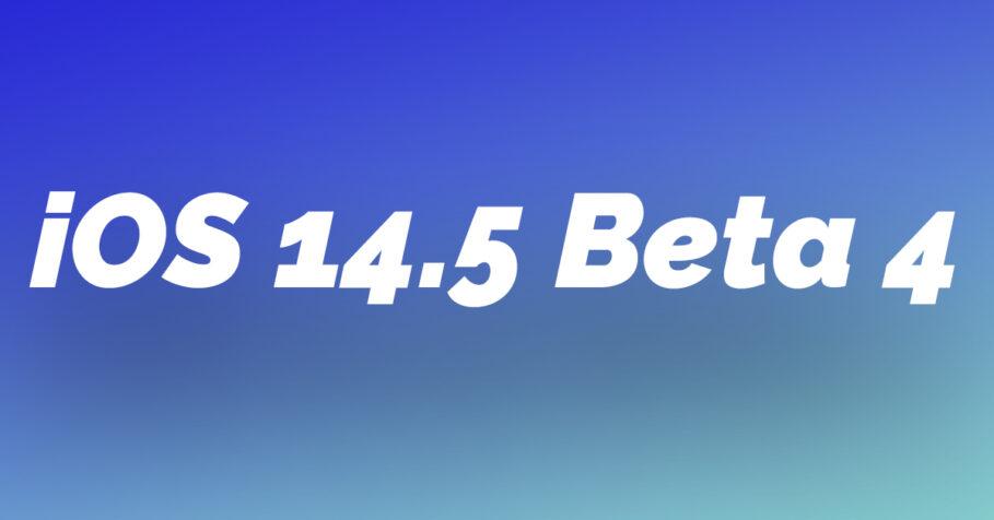 iOS14 5 Beta 4