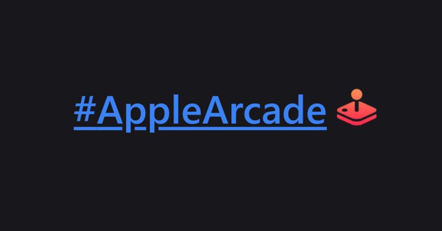 Apple Arcade Hashflag