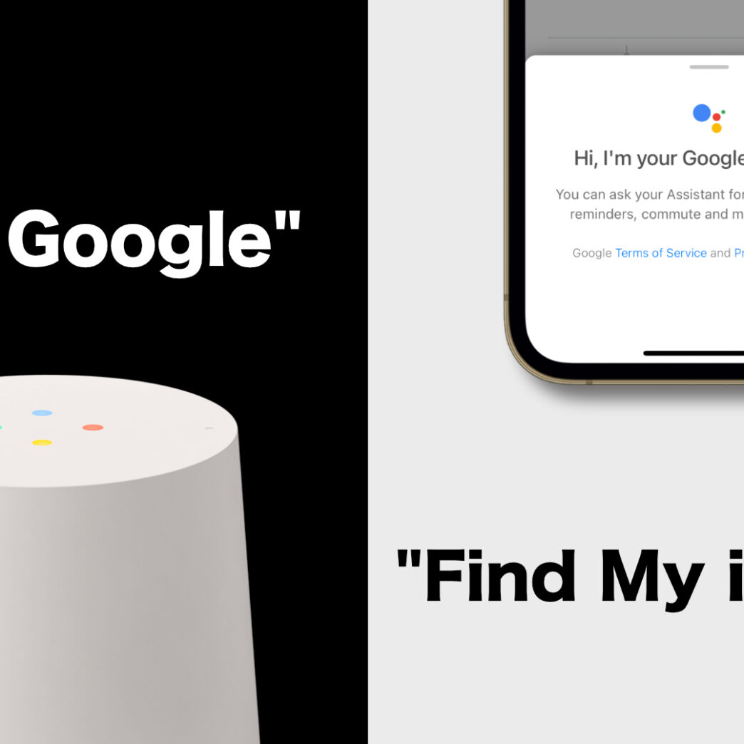 Find my iPhone using Google Assistant