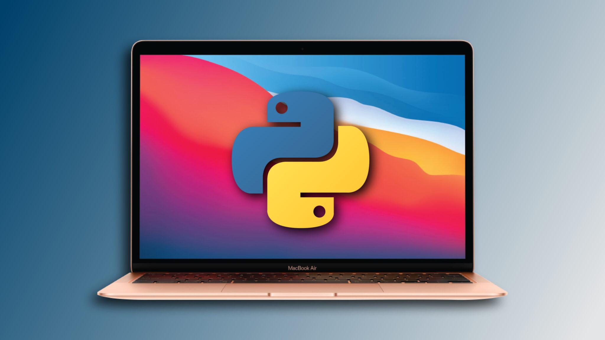 Installing Python On MacBook scaled