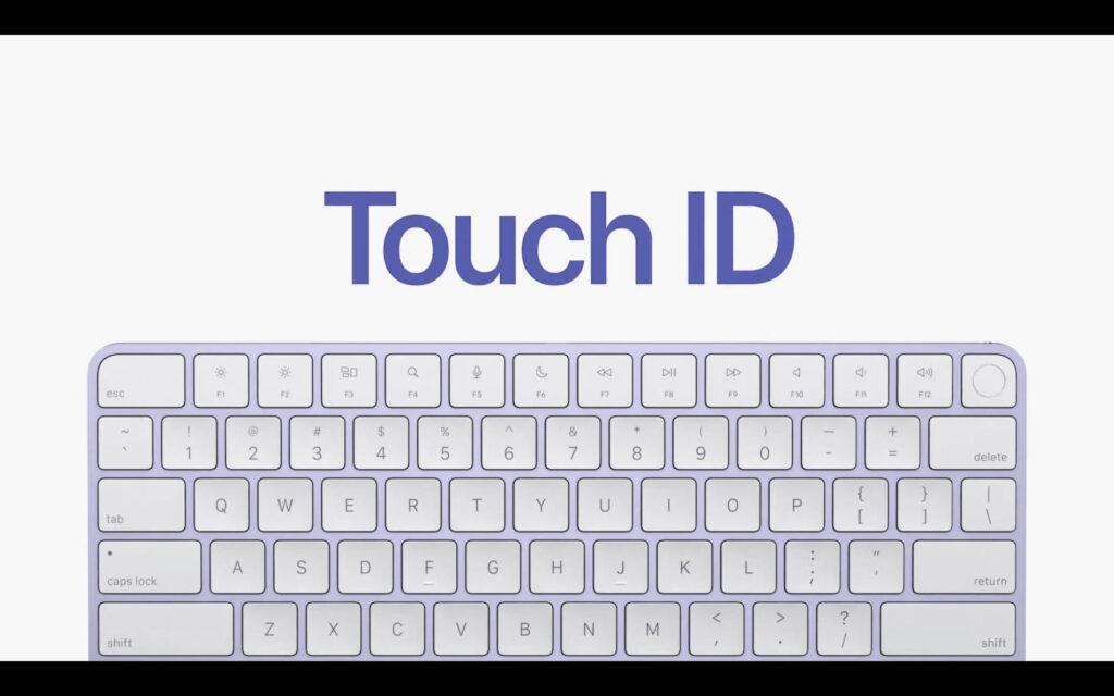 TouchID Magic Keyboard