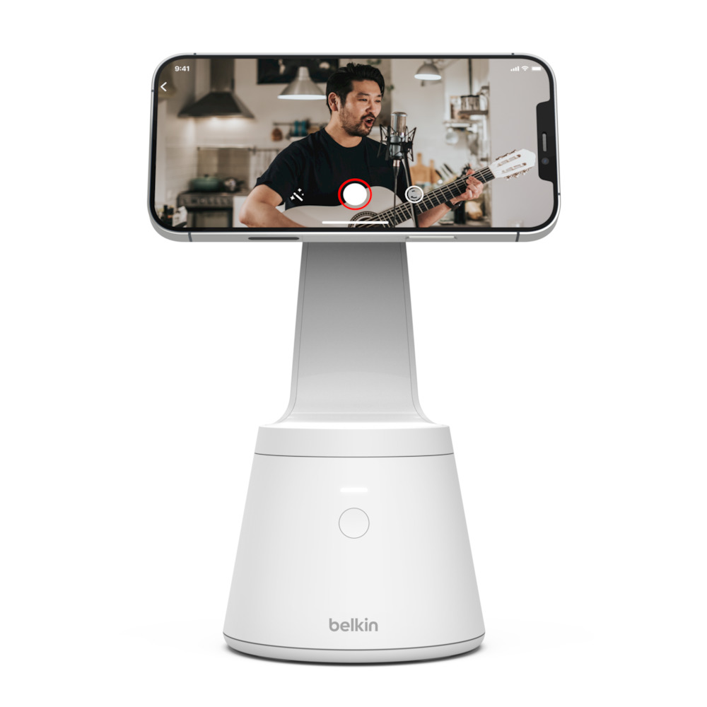 Belkin's Face Tracking Magnetic Mount for iPhone 12 Series