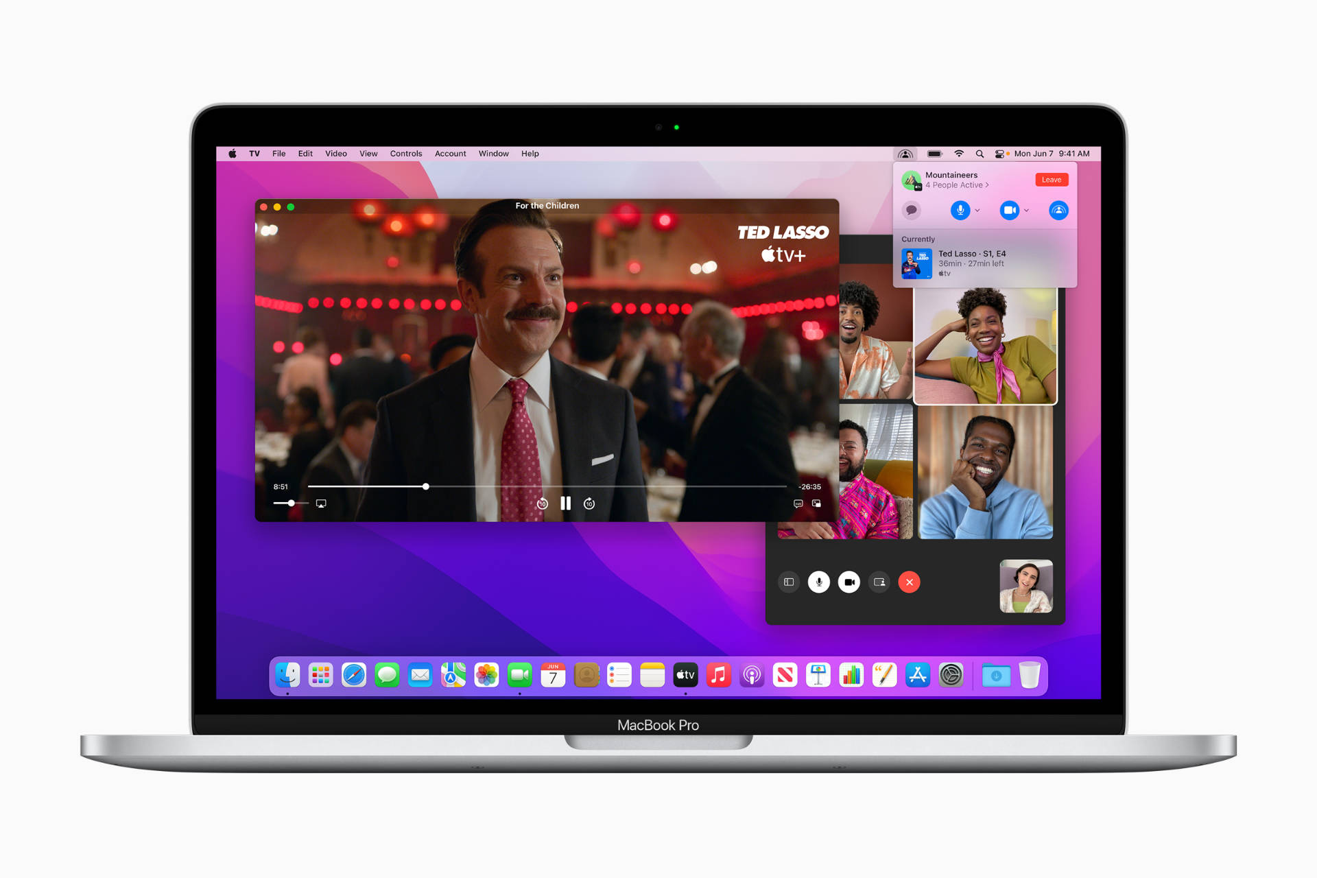 FaceTime SharePlay on macOS 12 Monterey