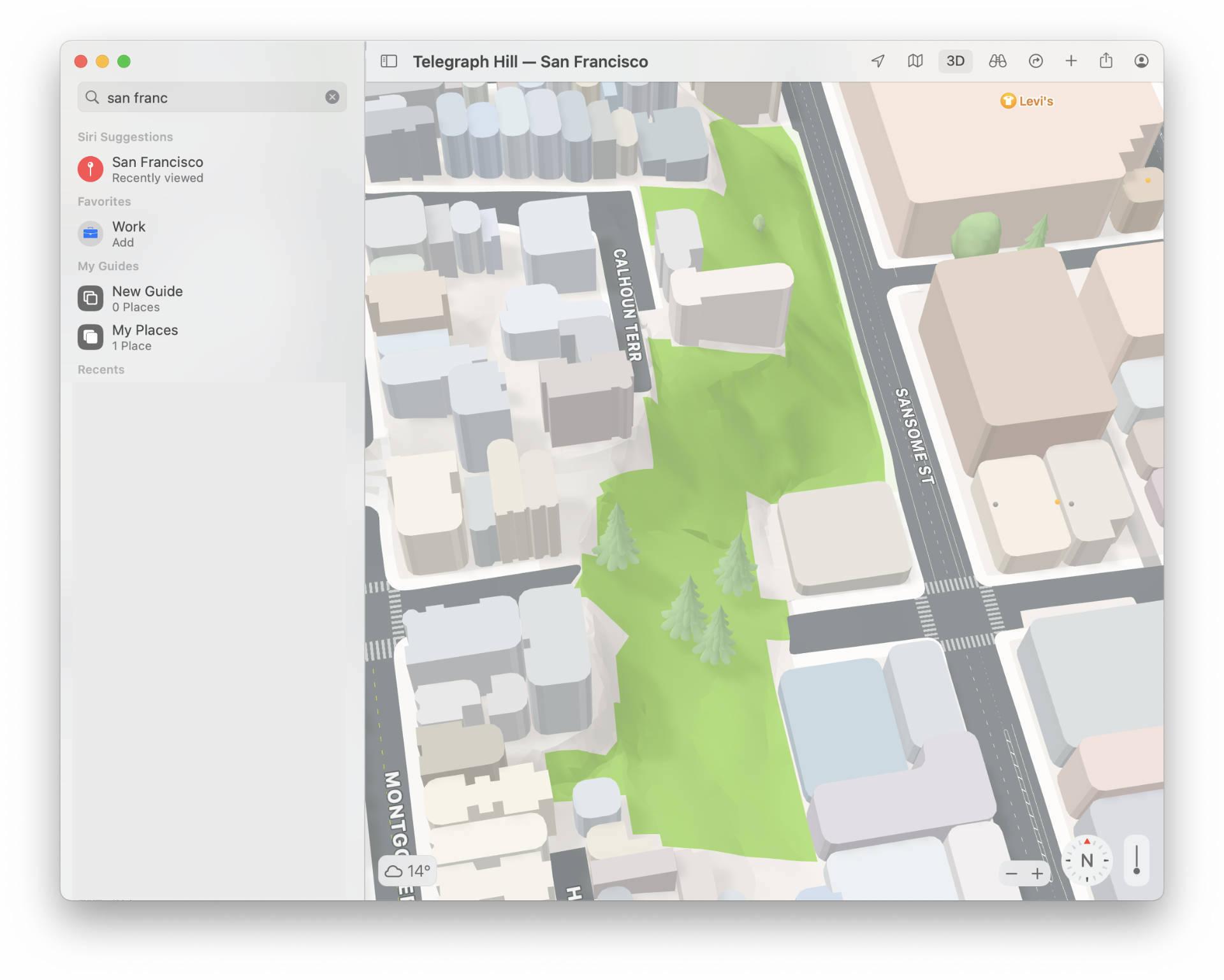 3D Maps Terrain.