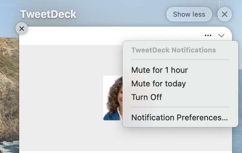 Mute Notifications in macOS 12
