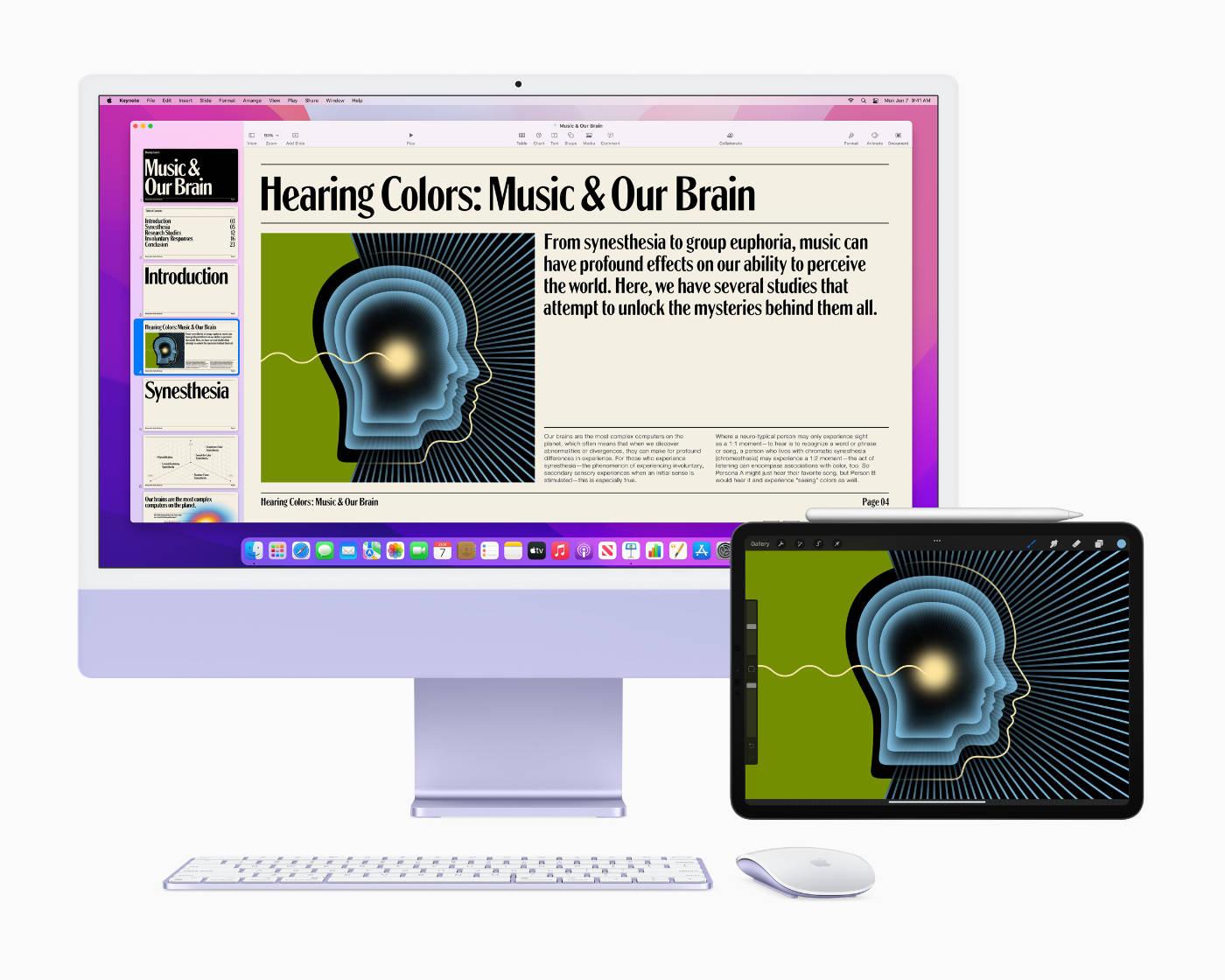 Universal Control on Mac and iPad