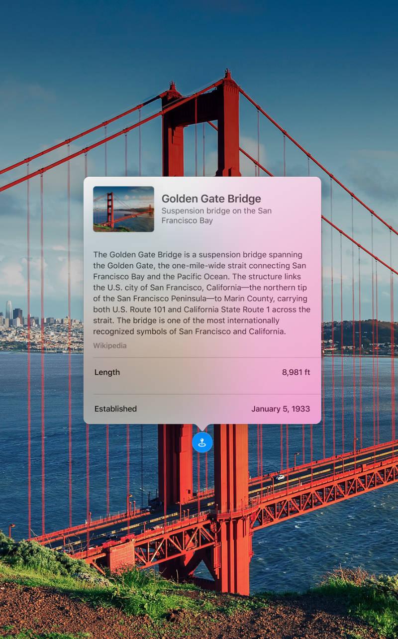 Visual Lookup in macOS 12 Monterey.
