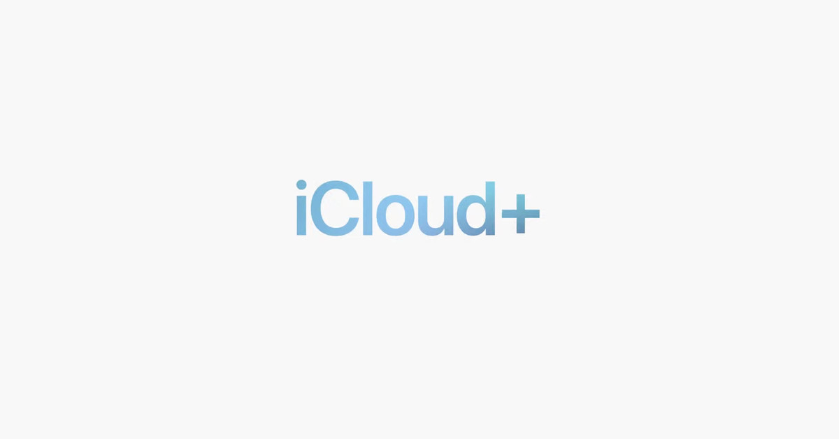 iCloud Plus Subscription Service Logo