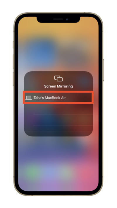 Mirror iPhone or iPad screen to Mac using AirPlay on macOS 12 Monterey