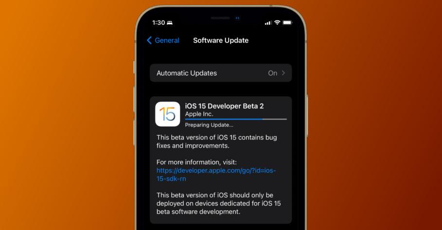 iOS 15 and iPadOS 15 Beta 2 Features