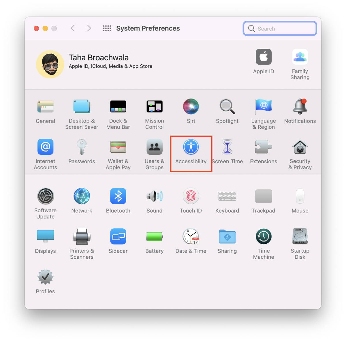 macOS-Accessibility-Preferences