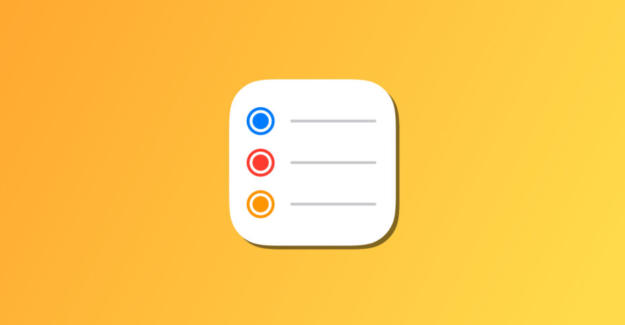 How to create a Smart List in Reminders in macOS Monterey