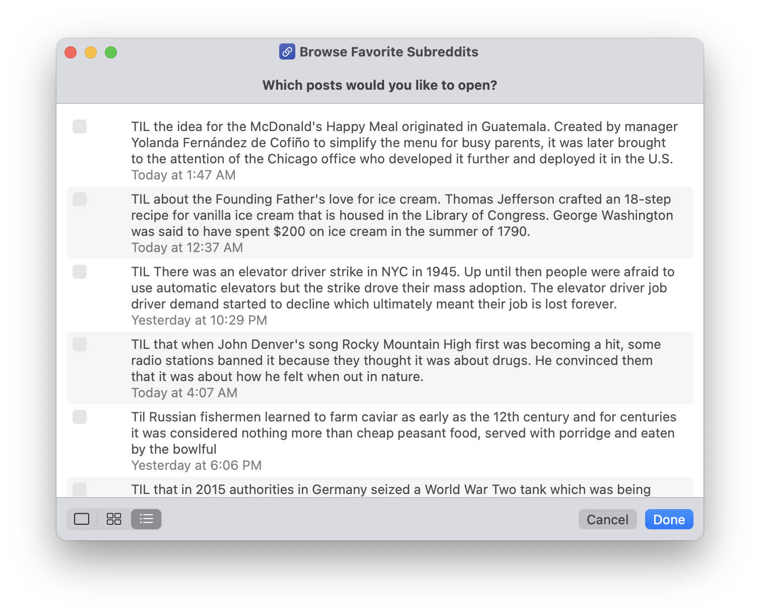 Reddit Browser Siri Shortcut